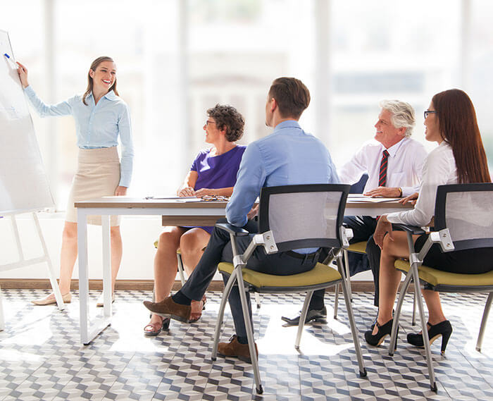 Improving communication in a business environment